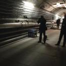 Ein Fotograf im XFEL-Tunnel