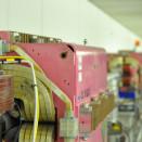 So lässt sich Pinktech ertragen: Die älteren Magnete haben einen anderen Anstrich